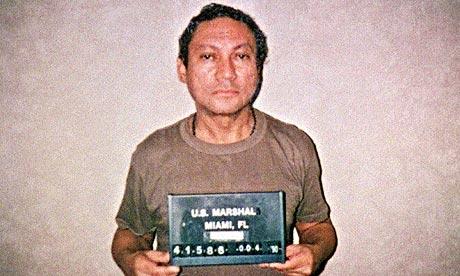 Sarah York Manuel Noriega